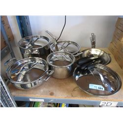 12 Pots, Pans and Knives - Store Returns