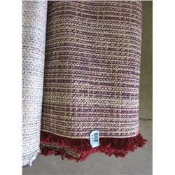 5 Foot x 7 Foot Red Shag Carpet - Store return