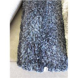 5 Foot x 7 Foot Charcoal Shag Carpet -Store return