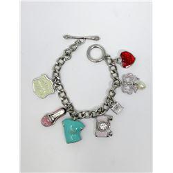 Genuine 2008 Juicy Couture Charm Bracelet
