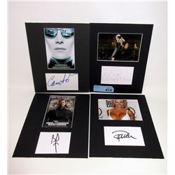 4 Certified Actor Autographs with Photos