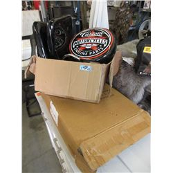 2 New Swivel Harley Davidson Stools