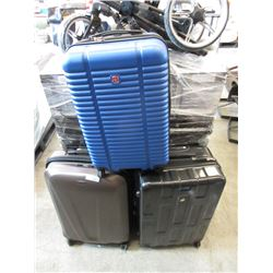 2 Large & 1 Mid Size Rolling Luggage - Store returns