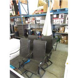6 Piece Patio Furniture Set