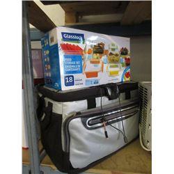Large Thermal Cooler & Food Storage Set