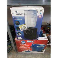 Countertop Water Dispenser & Spin Mop