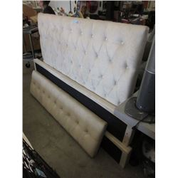 Queen Size Upholstered Bed Frame