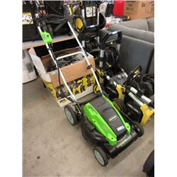 "Greenworks 21"" Lawnmower - Store Return"
