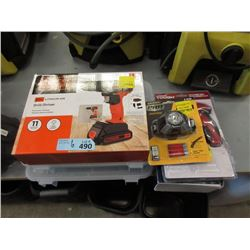 6 Piece Lot of Tools - Store Returns
