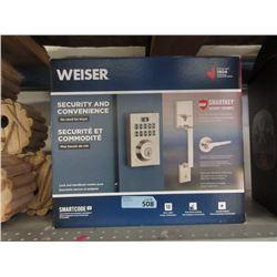 Weiser Keyless Lock & Handle Set