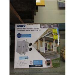 Lorex HD Wireless Security System