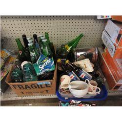 Vintage Bottles, Insulators & More