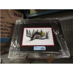 "Richard Shorty Framed Print ""Porcupine Wind Tall"""