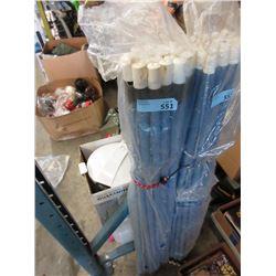 2 Dozen New Metal Broom/Mop Handles