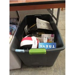 Large Tote of Assorted Store Return Goods