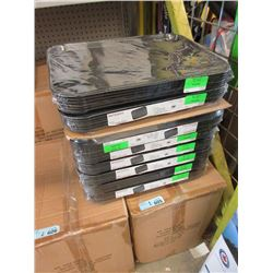 2 Cases of New Black Fast Food Trays