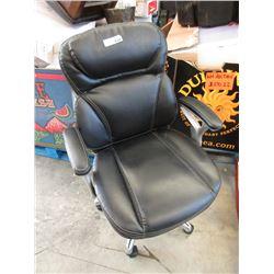 Black Swivel Office Task Chair - Store Return