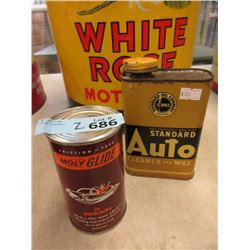 One Moly Glide & One Standard Auto Cleaner Cans