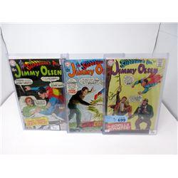 "3 ""Superman's Pal Jimmy Olsen"" 12¢  DC Comics"