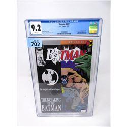 "Graded 1993 ""Batman #497"" DC Comic"