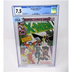 "Graded 1983 ""Uncanny X-Men #171"" Marvel Comic"