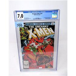 "Graded 1982 ""Uncanny X-Men #158"" Marvel Comic"