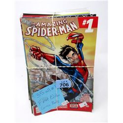 35 All #1 First Edition Comic Books