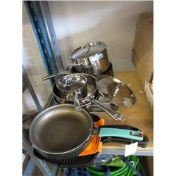 12 Pieces of Assorted Cookware - Store Returns