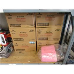 10 Cases of New Red Grill Towels