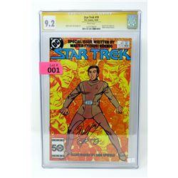 "Graded Signature Series ""Star Trek #19"" DC Comic"
