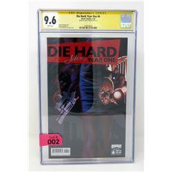 "Graded Signature Series ""Die Hard #6"" Comic"