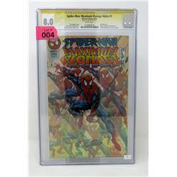 """Graded """"Spider-Man Maximum Clonage #1"""" Comic"""