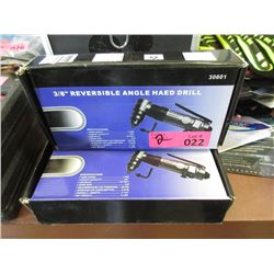 2 New 3/8 Drive Reversible Air Drill