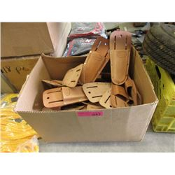 Case of Leather Knife Pouches - Approximately 40