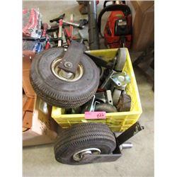 Bin of Casters & Wheels