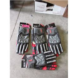 4 Pairs of Bob Dale Special Impact Drilling Gloves