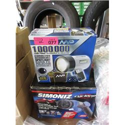 Rechargeable Light & Simoniz Cleaning Tool