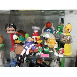 M&M's Collectables, Betty Boop Pez & more