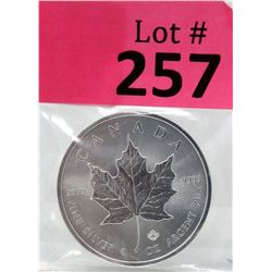 1 Oz. 2019 Canada .9999 Silver Maple Leaf Coin