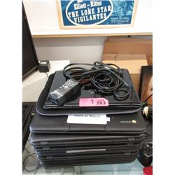 9 Assorted Chrome Books for Parts or Repair