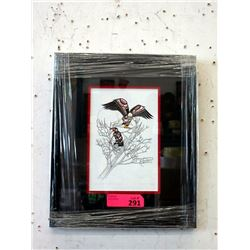 Richard Shorty Framed Print - Eagle Spirit Within