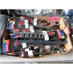 "Box of 13/16"" Combination Wrenches"