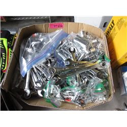 Box of  100+ Assorted Combination Wrenches