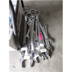 17 Assorted Combination Wrenches