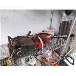 Craftsman Electric Chain Saw & Homelite Winch