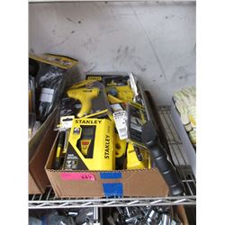 Box of Stanley Tools and Accessories
