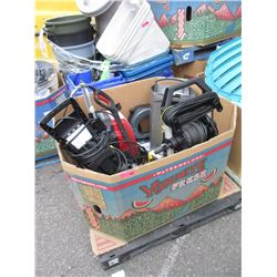 3 Store Return Pressure Washers and More