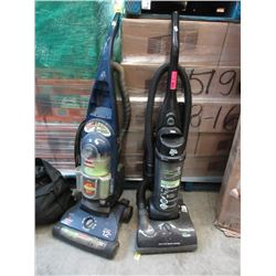 2 Upright Store Return Vacuums