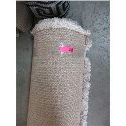Ivory Shag Area Carpet - Store Return