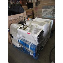 Skid of Assorted Air Conditioner - Store Returns